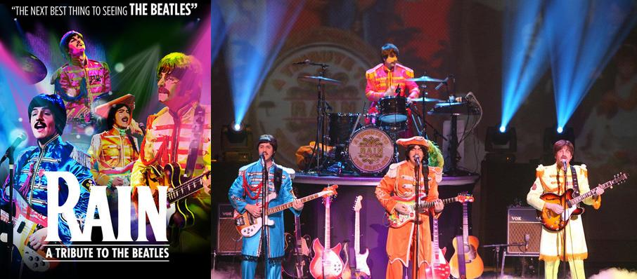 Rain - A Tribute to The Beatles at Wagner Noel Performing Arts Center