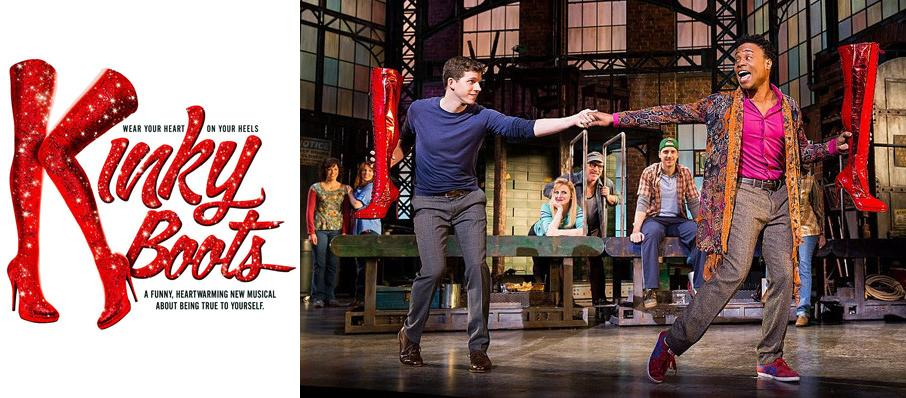 Kinky Boots at Wagner Noel Performing Arts Center