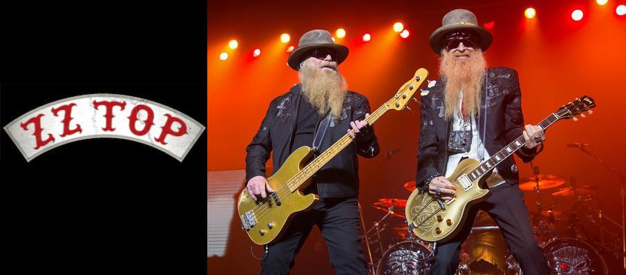 ZZ Top at Wagner Noel Performing Arts Center