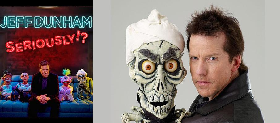 Jeff Dunham at Wagner Noel Performing Arts Center