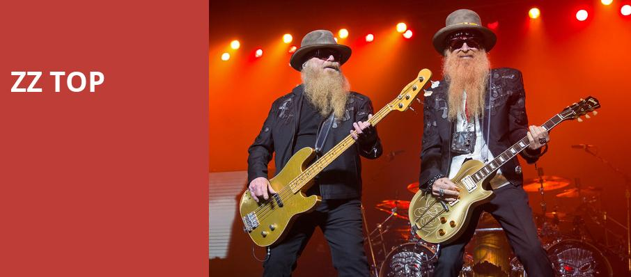 ZZ Top, Wagner Noel Performing Arts Center, Midland
