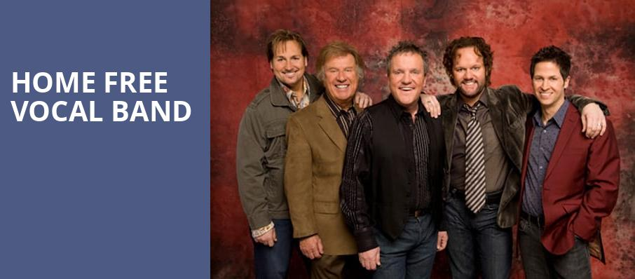 Home Free Vocal Band, Wagner Noel Performing Arts Center, Midland