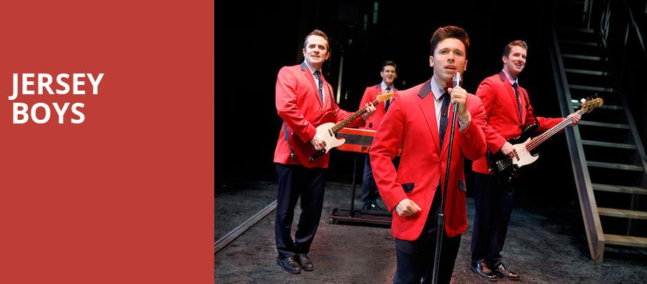 Jersey Boys, Wagner Noel Performing Arts Center, Midland