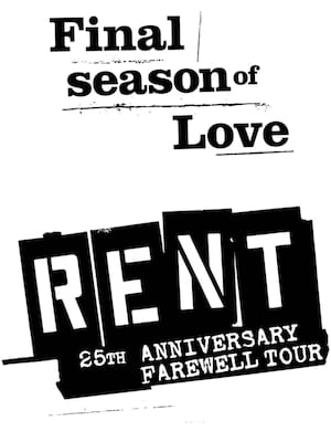 Rent, Wagner Noel Performing Arts Center, Midland